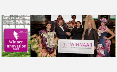 Winnaar Horti Fair Innovation Award 2012