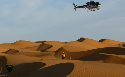 [inglés] SERCOM user will be racing in Dakar Rally