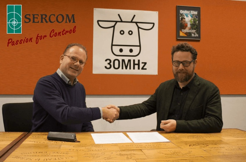 SERCOM and 30MHz agreed on cooperation