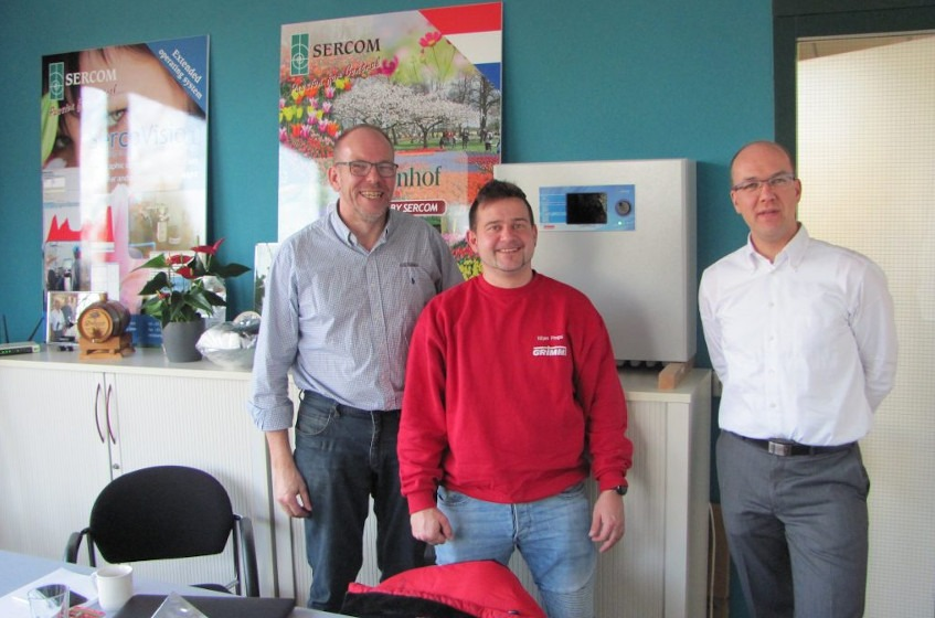Important visit from GRIMME, Denmark