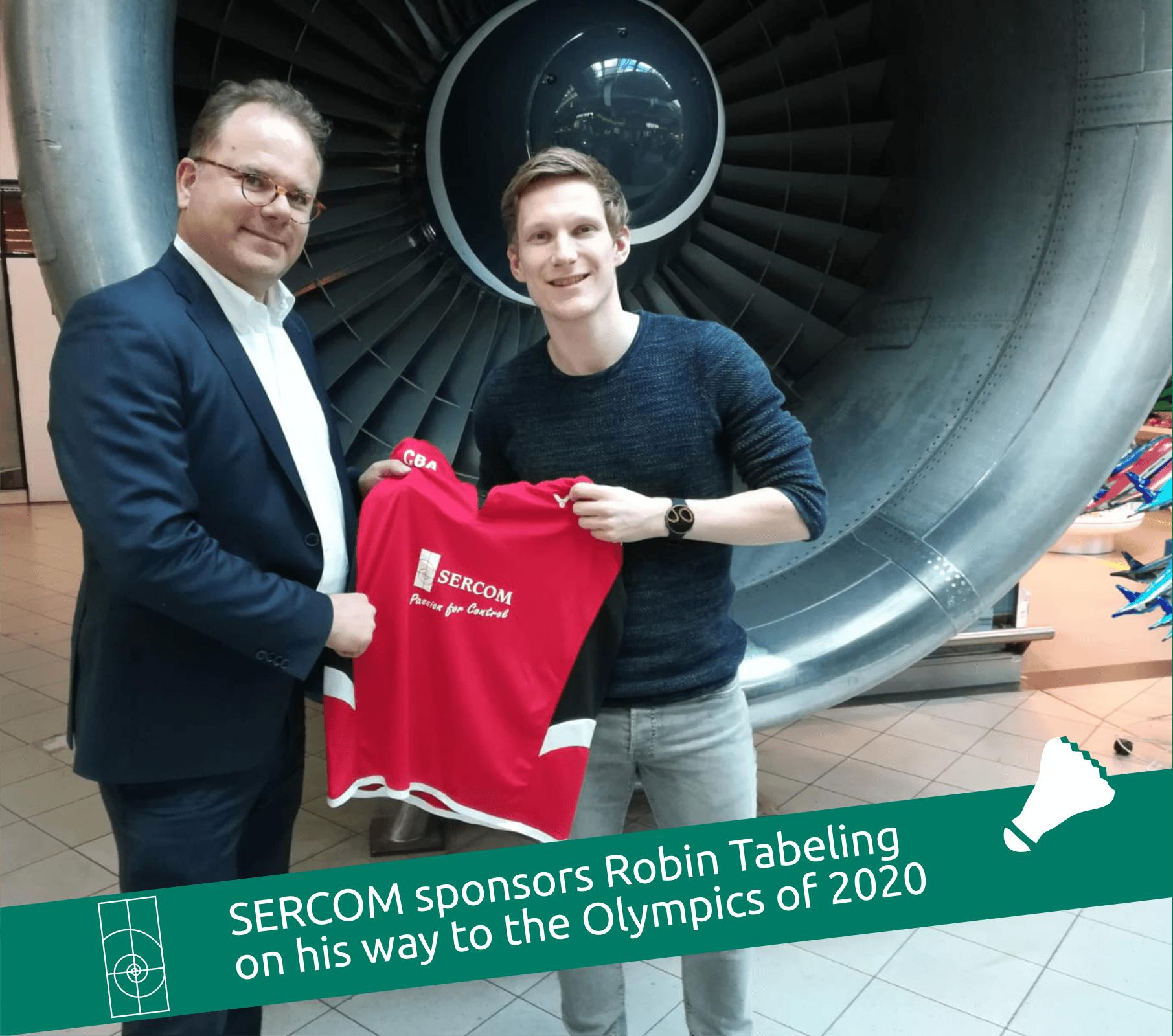 SERCOM sponsors Robin Tabeling