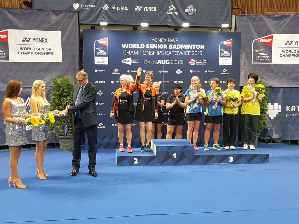 Silver for Sandra and Jeannette at the World Championships
