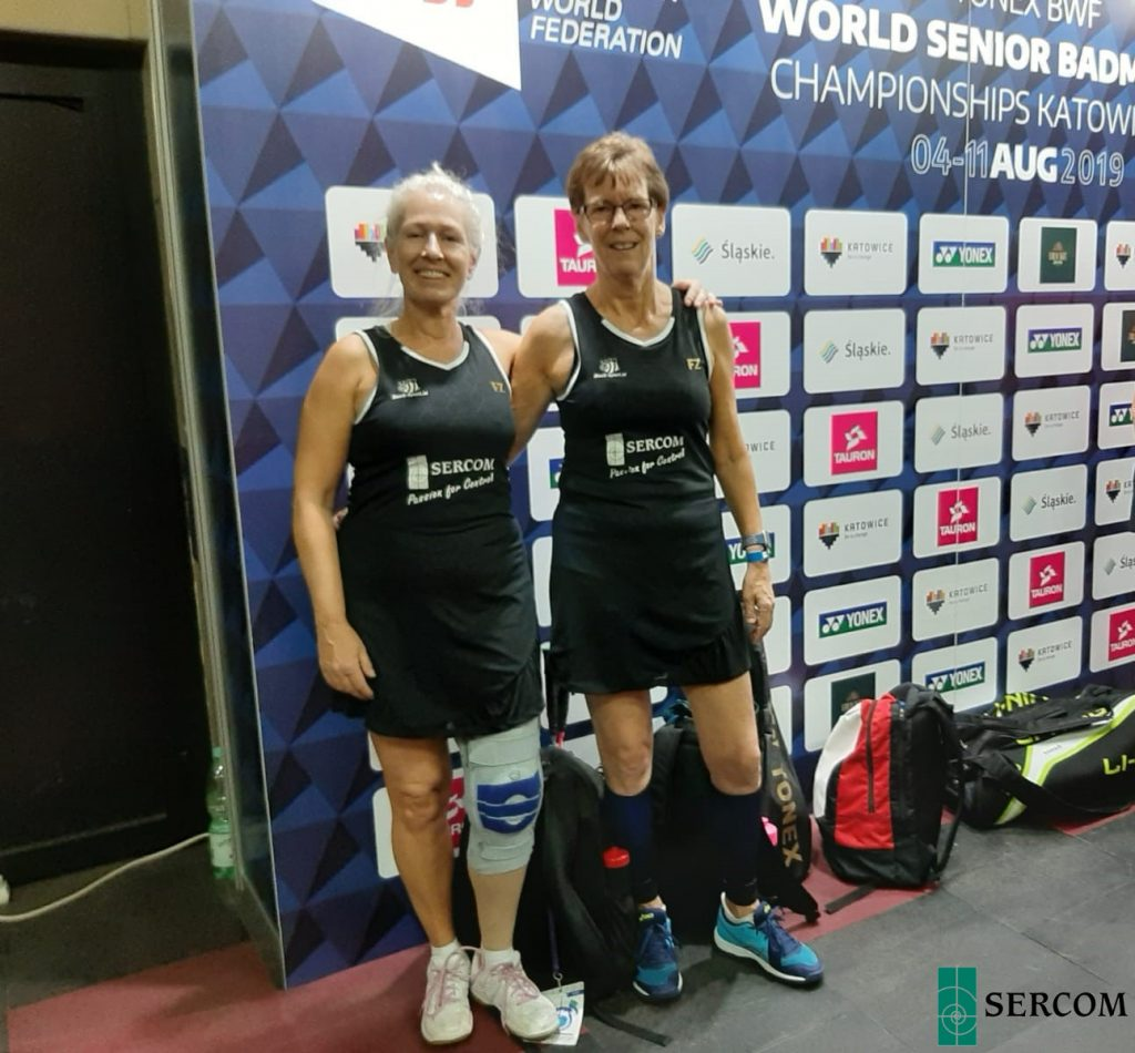 Sandra op World Senior Championships